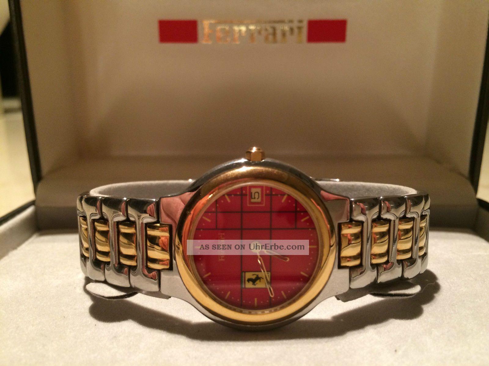 Ferrari Cartier Nr.  294774 Formula Damenuhr Wie,  Seltene Sammleruhr Armbanduhren Bild