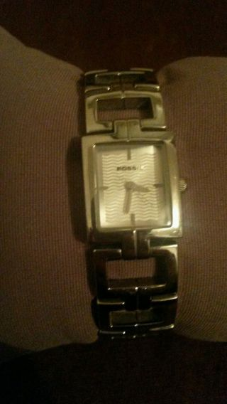 Damen Metall Armbanduhr Fossil Bild