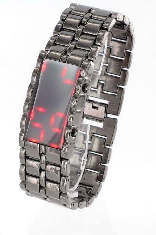 Jay Baxter Uhr Matrix Gun Color Unisex Armbanduhr Metallarmband Versch.  Farben Bild