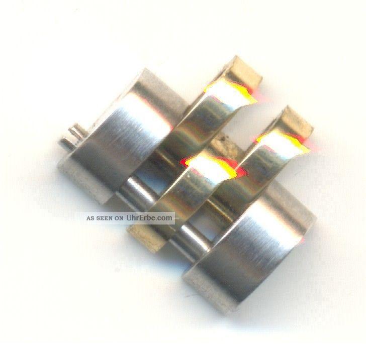 Glied Für Rolex Jubileband Stahl/gold 750 Lady Date,  Datejust,  10mm, Armbanduhren Bild
