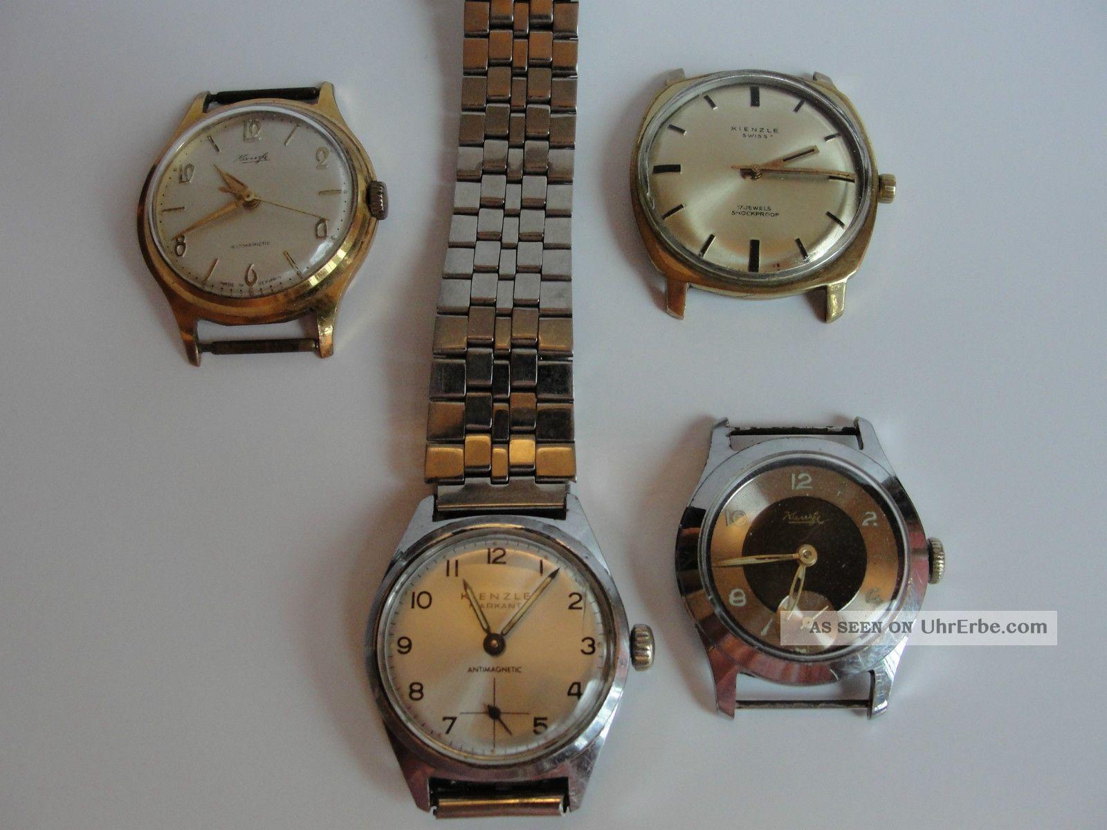 4 Kienzle Handaufzug Für Den Uhrmacher Armbanduhren Bild