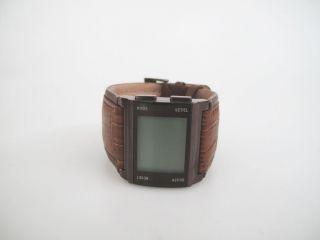 Roxy Wonton Brown W084bl Brn Armbanduhr Uhr E477 Bild
