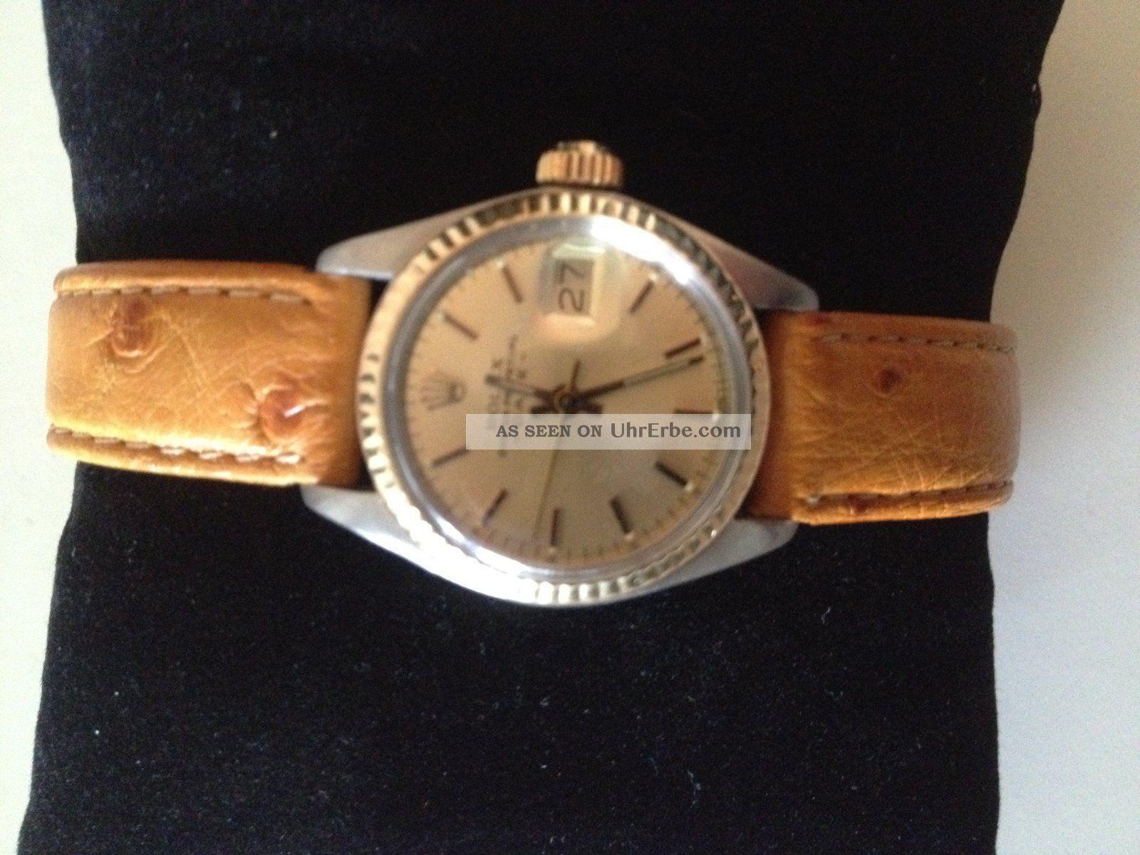 Rolex Damenuhr Armbanduhren Bild