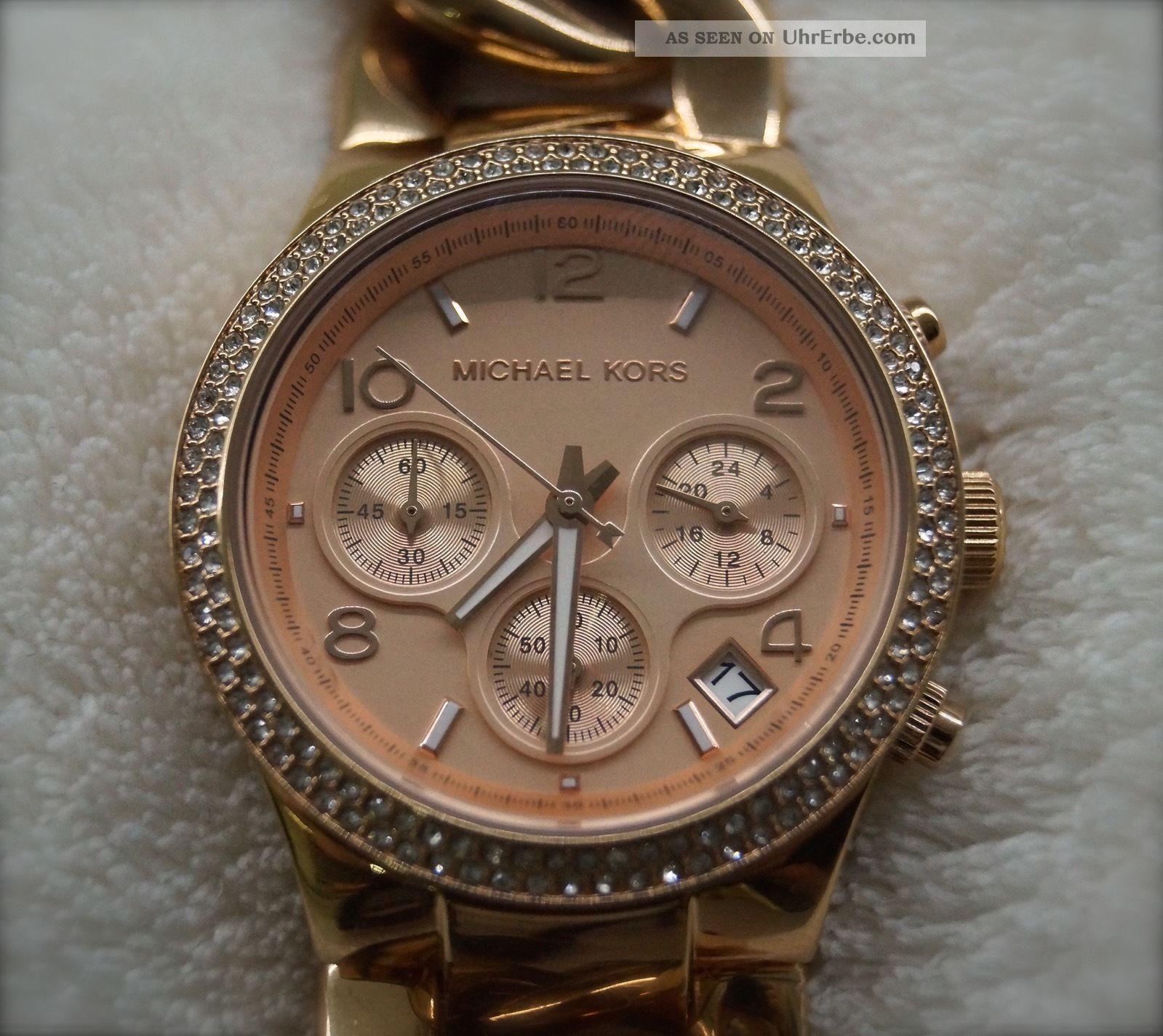 Michael Kors Mk3247 Armbanduhr Für Damen Armbanduhren Bild