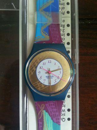 Swatch Swiss Armbanduhr Damen Bild
