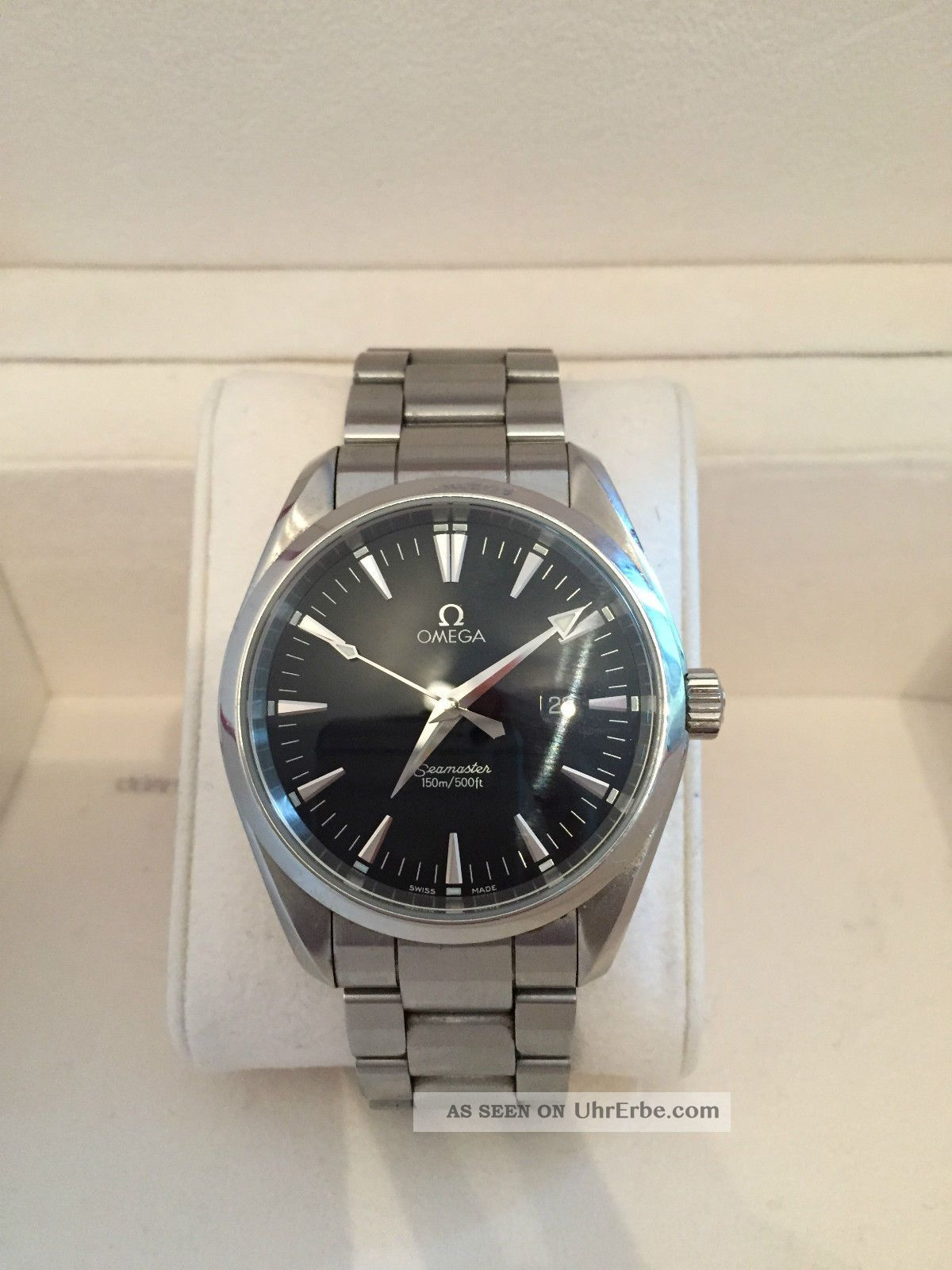 Omega Seamaster Aqua - Terra Quarz Armbanduhr Armbanduhren Bild