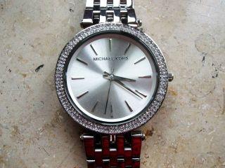 Michael Kors 3190 Damen Uhr,  Rotververg.  Stahlgehäuse/armband,  Neuwertig Bild