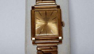 Armbanduhr 18k Gold - Marke Cornavin - Swiss - 1960 (?) - Handaufzug - Läuft Top Bild