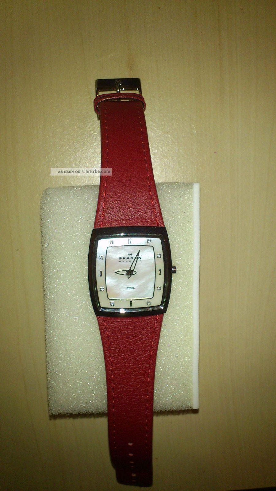 Armbanduhr Von Skagen Für Damen Armbanduhren Bild