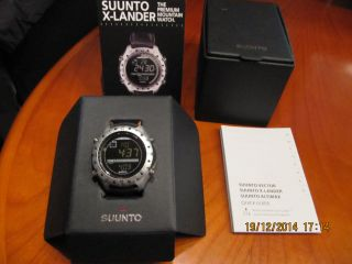 Suunto X - Lander Multifunktionsuhr Black Amer Sports Deutsch Frankz Bild