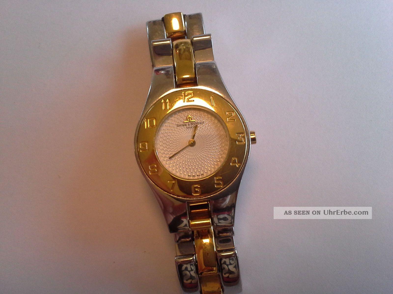 Baume Et Mercier Armbanduhr Für Damen Armbanduhren Bild
