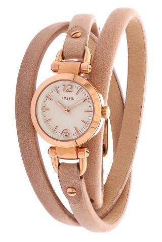 Fossil Damen Armbanduhr Xs Georgia Beige Es3477 Bild