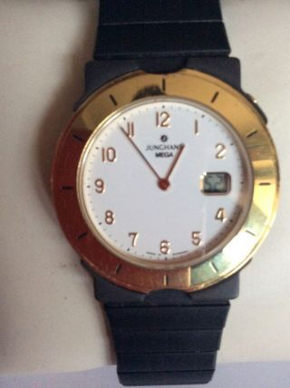 Junghans Mega Funkuhr Mit Megatec Armband Bild