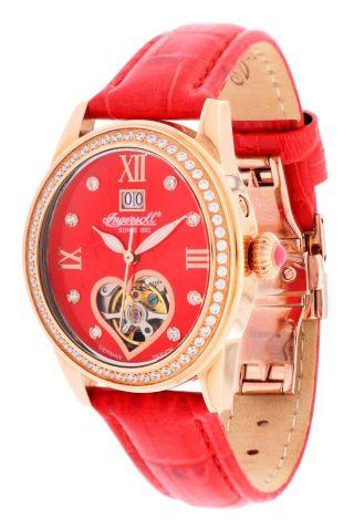 Ingersoll Damen Armbanduhr Punca Limited Edition Rot In5011rrd Bild