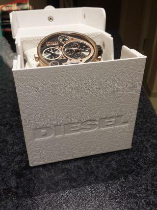 Top  Herrenuhr Diesel Xxl Uhr Rose Dz7261 In Ovp Bild