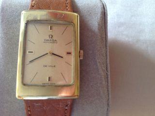 Omega De Ville Automatic Damenuhr - 70 Er Jahre - Aus Uhrensammlung Bild