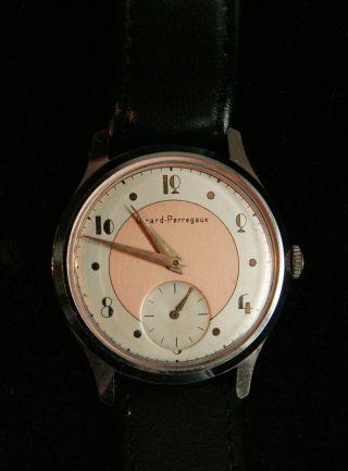Elegante Girard - Perregaux,  Herren - Armbanduhr Handaufzug,  Vermutl.  Aus Den 40ern Bild