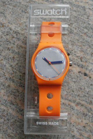 Swatch Go900 Orange Ticket In Originalverpackung - Aus Sammlung - Bild