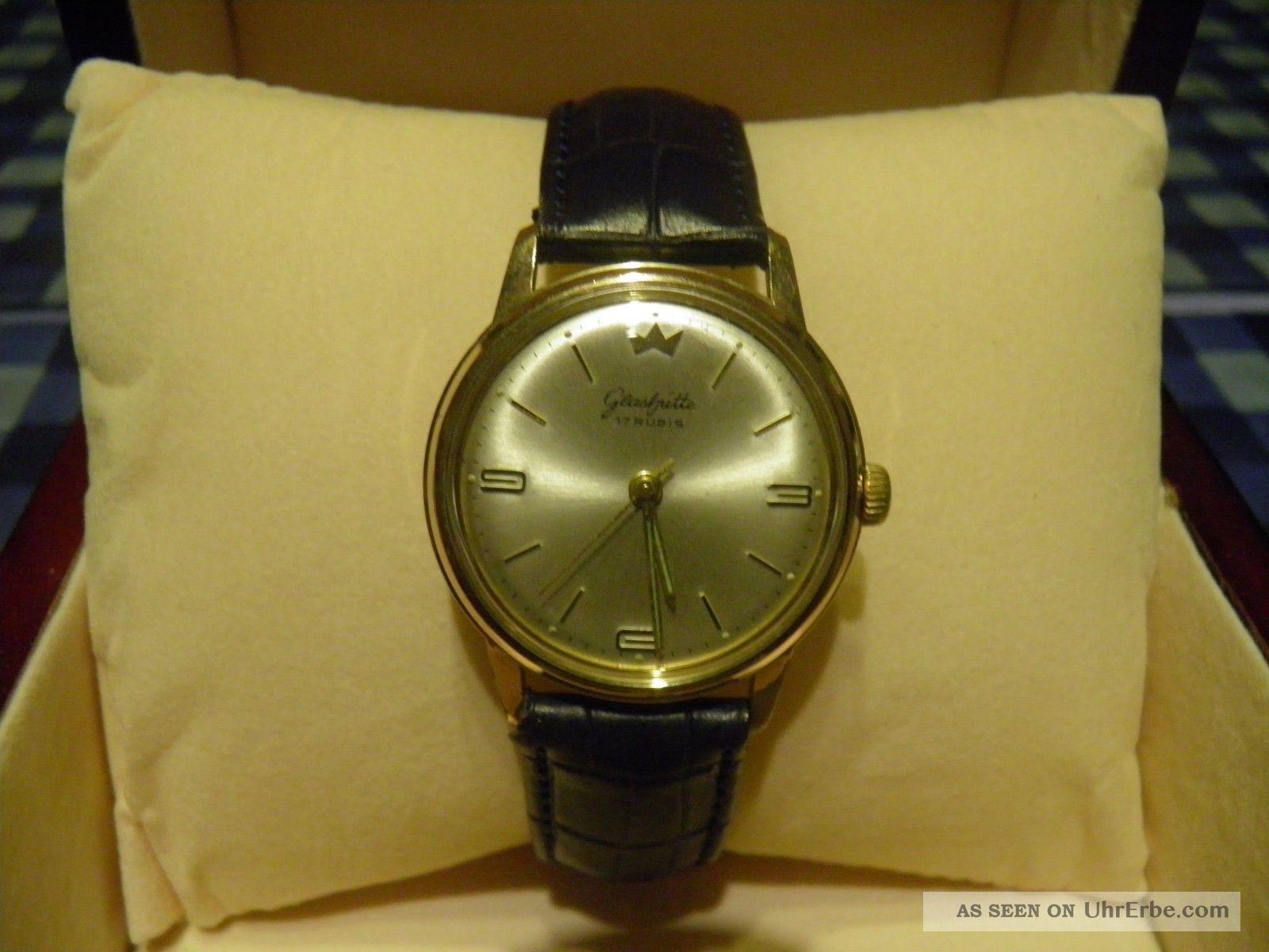 Glashütte Armbanduhr Handaufzug Armbanduhren Bild