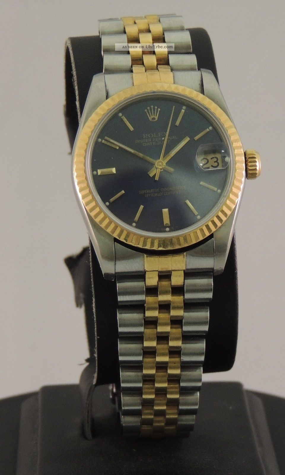Rolex Datejust Stahl Gold Ref 68273 Armbanduhren Bild