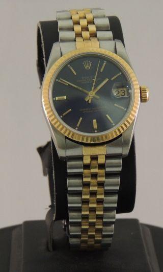 Rolex Datejust Stahl Gold Ref 68273 Bild