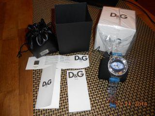 D&g Unisex Prime Time Xxl Uhr Mit Ovp Bild