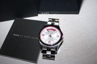 Marc Jacobs Damenuhr Damen Uhr Edelstahl Silber Mbm3161 - Uvp 199,  00€ Bild
