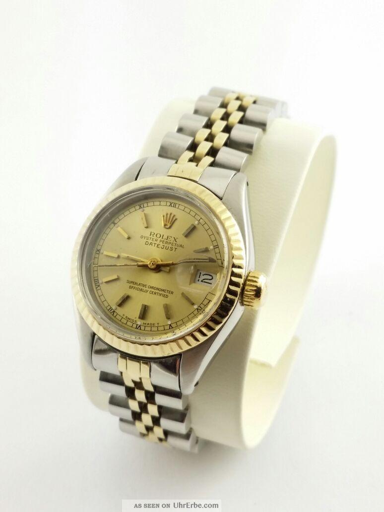 Rolex Oyster Perpetual Damen : rolex oyster perpetual datejust damen armbanduhr 18 karat gold ~ Frokenaadalensverden.com Haus und Dekorationen