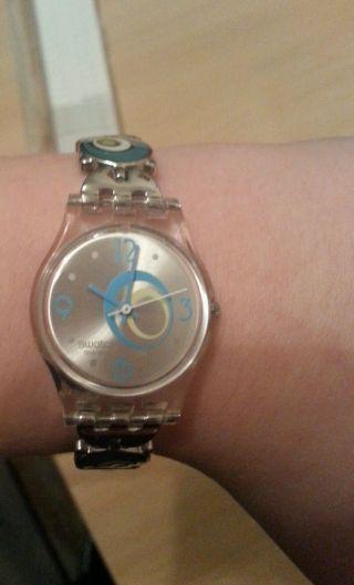 Swatch Check Pea Armbanduhr Für Damen (lk267g) Bild
