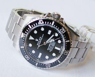 Rolex Sea Dweller 116600 Aus 11/2014 Mit Box Und Papieren Bild