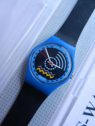 Swatch,  Lady,  Ls103 Running Water,  Neu/new Bild