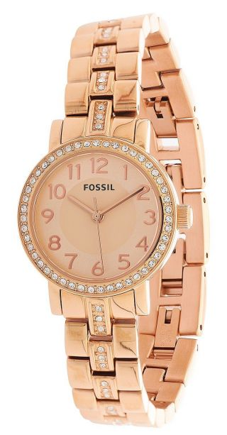 Fossil Damen Armbanduhr Rose Gold Bq1430 Bild