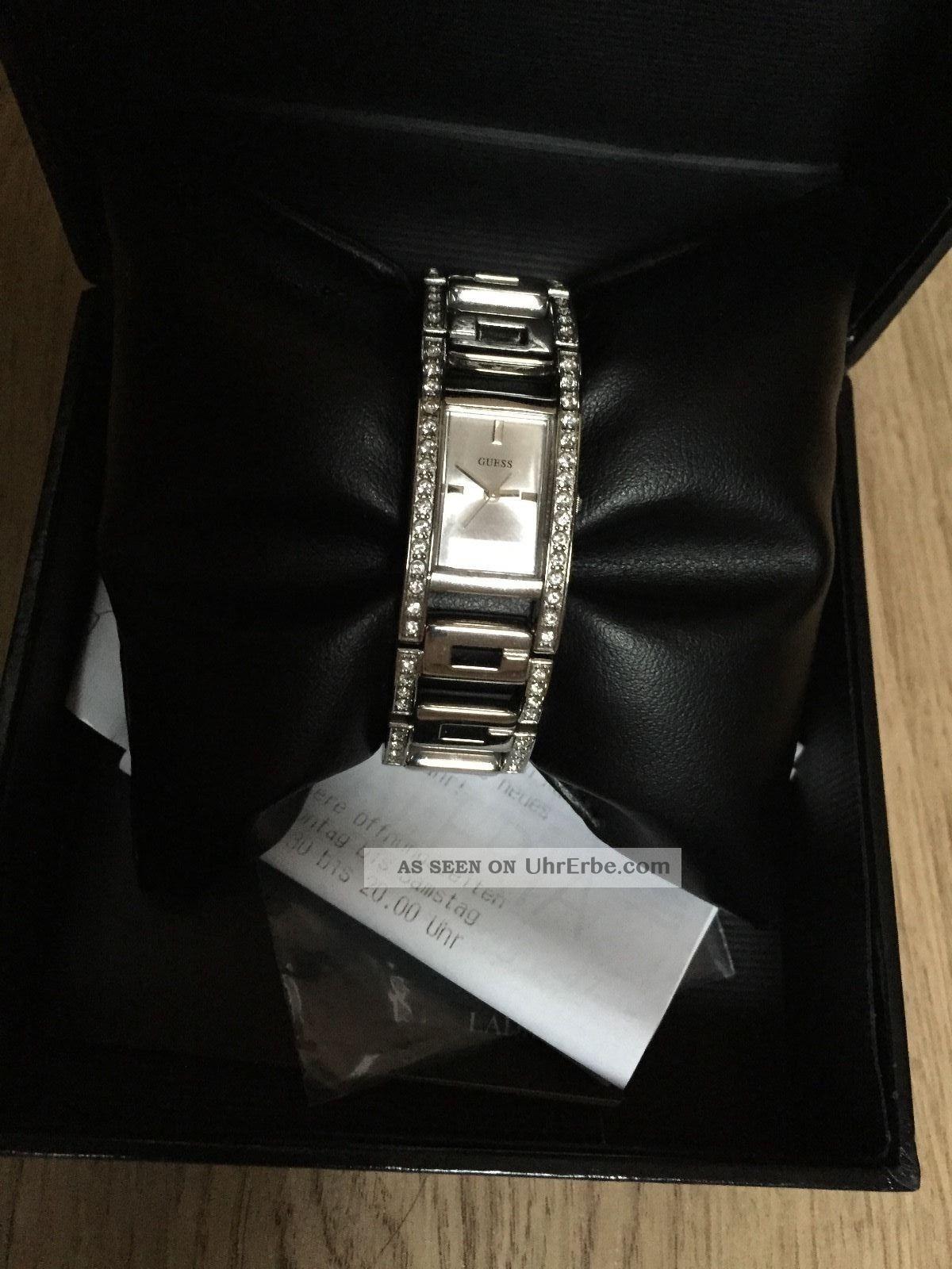 Guess Damen Uhr / Women ' S Watch W11088l1 Mit Rechnung Armbanduhren Bild