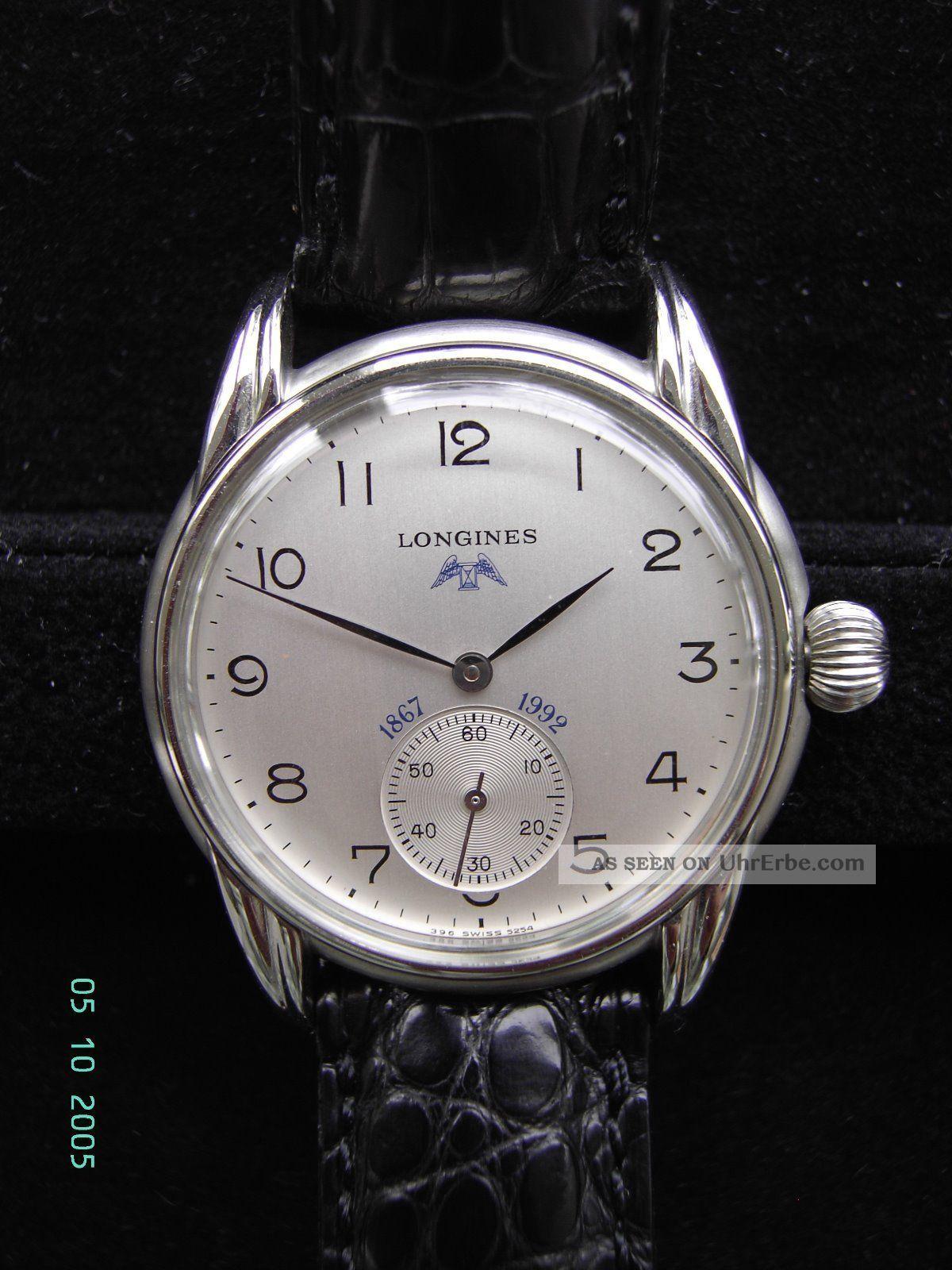 Longines 1867 - 1992,  Years 125 Ans Armbanduhren Bild