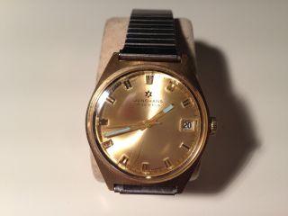 Junghans Herren Armband Uhr,  Handaufzug,  Top,  Cal:620.  02 Bild