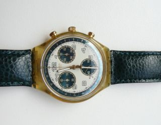 Sck109 Swatch Chrono Business Class 1996 Bild