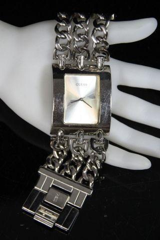 Schöne Guess 195194l1 Damenarmbanduhr Damenuhr Quarz Armbanduhr Uhr Edelstahl Bild