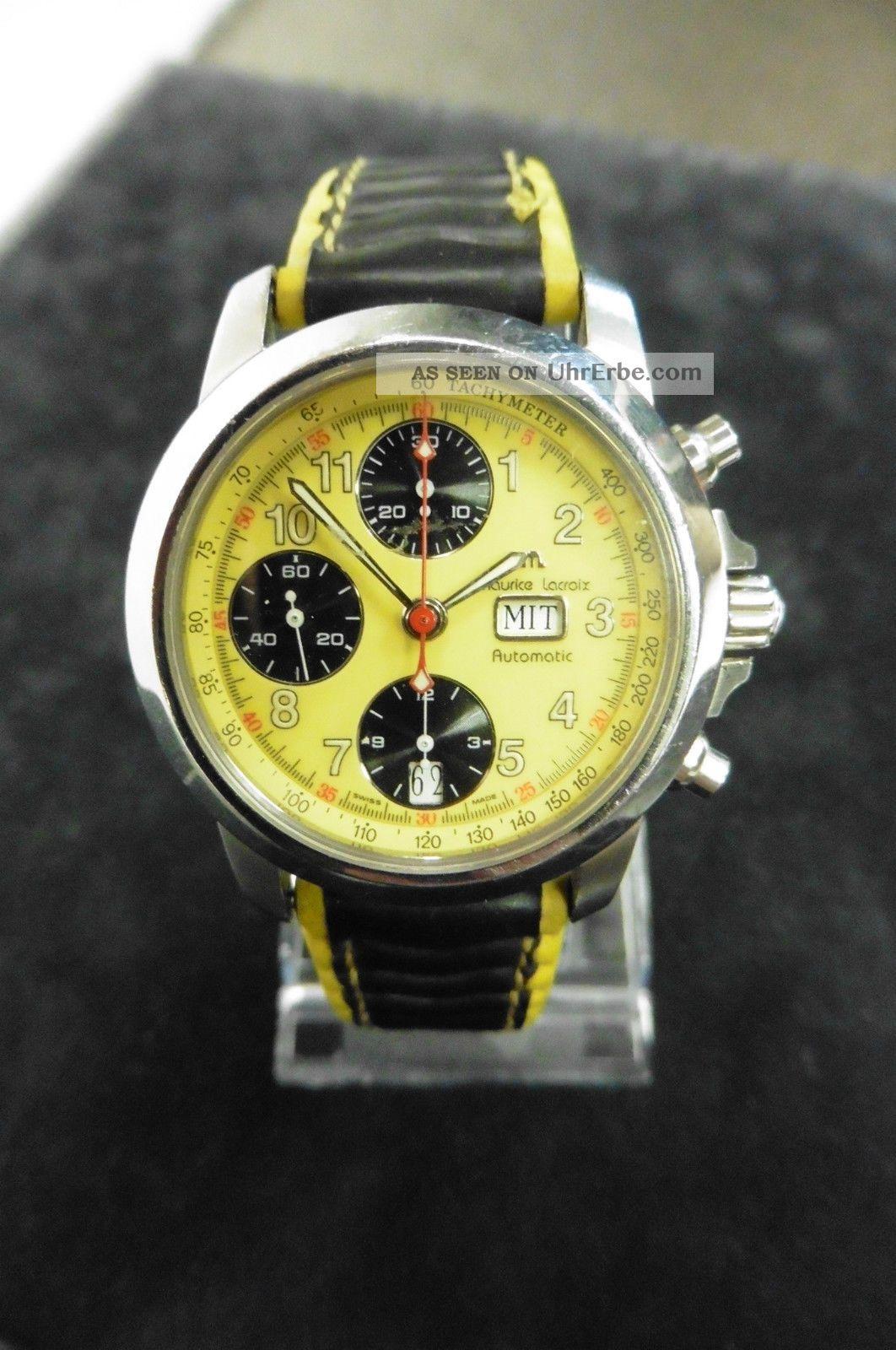 Maurice Lacroix 39721 Chronometer Dau Hau Herrenuhr Klassisch Uhr Automatik Armbanduhren Bild