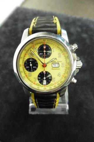 Maurice Lacroix 39721 Chronometer Dau Hau Herrenuhr Klassisch Uhr Automatik Bild