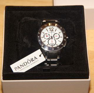 Pandora Damenuhr Black Crown Diamond Imagine Grand Abs.  Neuwertig In Ovp Bild