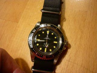Automatik Uhr,  Mariage Eta 2824 - 2 Elaboré Swiss Made Diver Eigenbau Automatic Bild