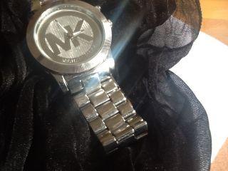 Michael Kors Uhren Alle Edelstahl Selten Mk 5139 Ansehen,  Men,  Sterling Silver Bild