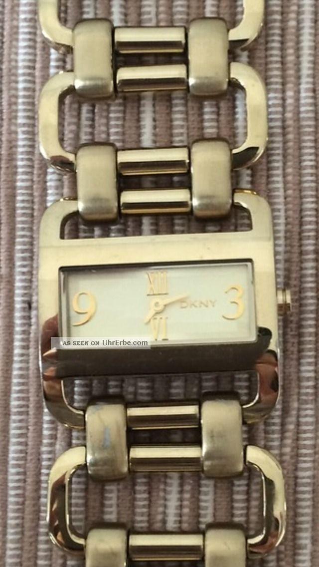 Donna Karan Damen Uhr Ny4495 Weihnachtsgeschenk Schnäppchen Armbanduhren Bild