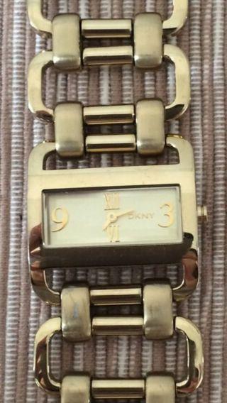 Donna Karan Damen Uhr Ny4495 Weihnachtsgeschenk Schnäppchen Bild