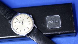 Zenith Kaliber 2562 Pc Automatik 23 Jewels Armbanduhr Uhr Swiss Made Bild