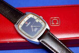 Omega Constellation Chronometer Electronic F 300 Hz Armbanduhr Uhr Mit Omega Box Bild
