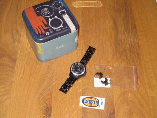 Fossil Uhr Armbanduhr,  Schwarz,  Titan Bild