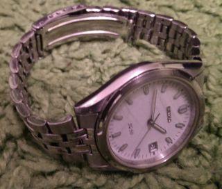 Damen Armbanduhr Seiko Sq 50 7n42 - 9040 / 5 Bar Bild