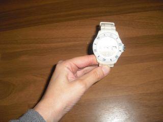 Neuwertige Ice Watch Armbanduhr Unisex Sili Forever Big Big Weiss - Bild