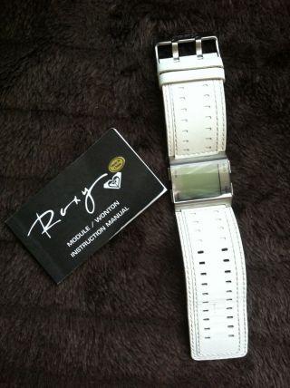 Damen Armbanduhr Digital Leder Weiß Bild